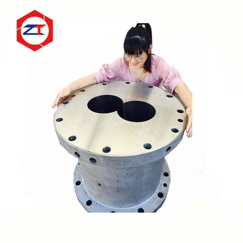 219mm Large Extruder Screw And Barrel For Plastic Industry High Wear Resistant